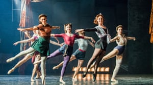 Rippling with personality … the cast of The Red Shoes.