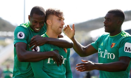 Gerard Deulofeu takes Watford seventh with victory over Huddersfield