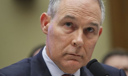 Fancy-pants Pruitt has been plagued by spending scandals since taking office.