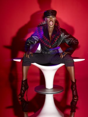 Grace Jones by Tim Bret-Day, 2010
