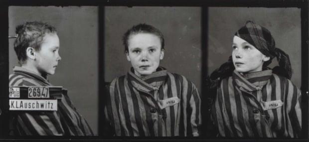 Le tre foto originali di Czeslawa Kwoka, bambina di 14 anni, ad Auschwitz (© Auschwitz Memorial and Museum).
