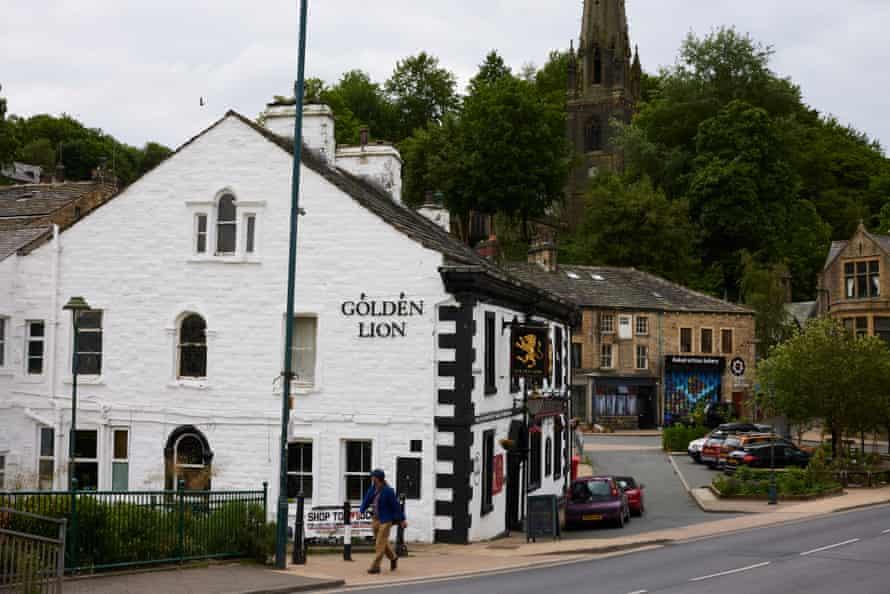 The Golden Lion pub in Todmorden.