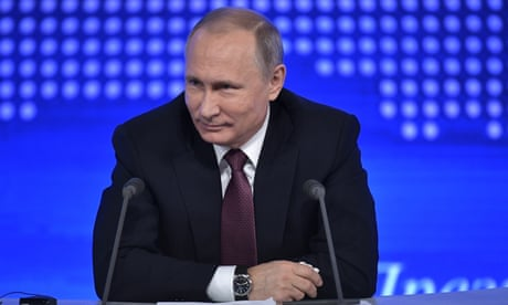 Vladimir Putin: defeated Democrats' blame game 'not very dignified'
