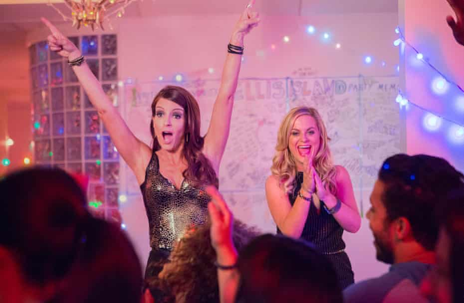 Farewell to the family home ... Tina Fey and Amy Poehler in Sisters.
