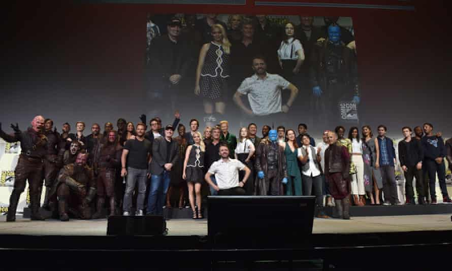 The casts and filmmakers from Marvel Studios' attend the San Diego Comic-Con International 2016 Marvel Panel in Hall H.