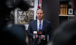 Josh Frydenberg faces the media