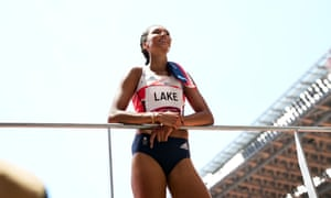 Morgan Lake is an outside chance for a medal in the women's long jump final.