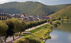 The bank Of The Meuse in Montherme, Belgium