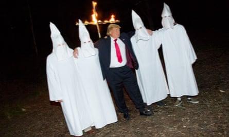 Alison Jackson – Trump and the KKK