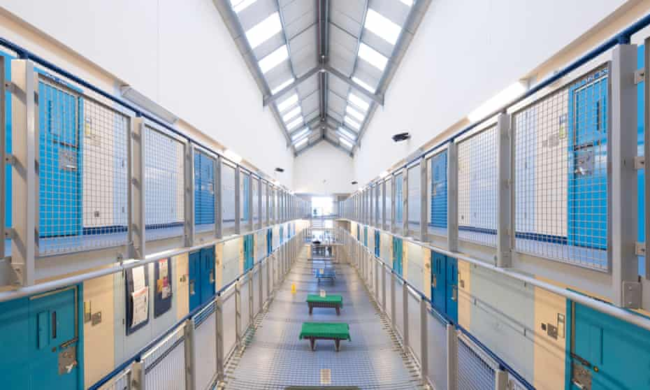 Lancashire prison interior