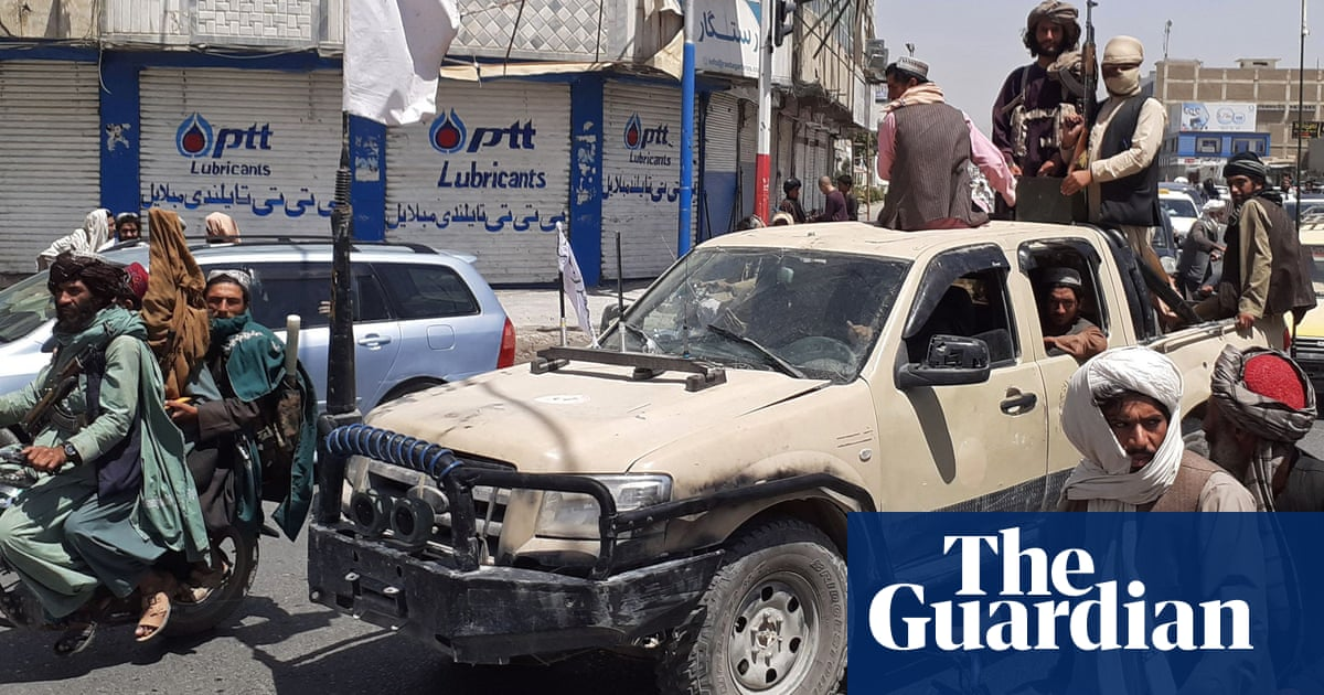 Seven days that shook Afghanistan: how city after city fell to the Taliban