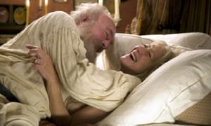 Plummer as Leo Tolstoy and Helen Mirren as Sofya Tolstoy in The Last Station, 2009