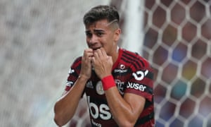 Reinier Jesus will join Real Madrid after winning the Brazilian title and Copa Libertadores with Flamengo.
