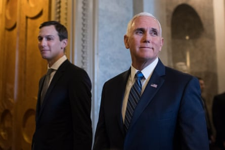 Two of the men leading America's coronavirus response: a real estate businessmen and a career politician and evangelical Christian.
