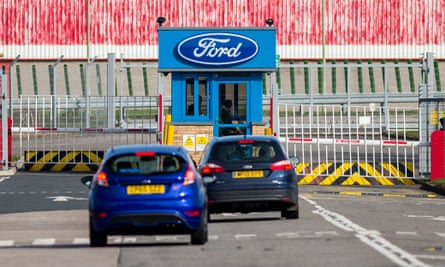 The Ford engine plant in Bridgend, Wales