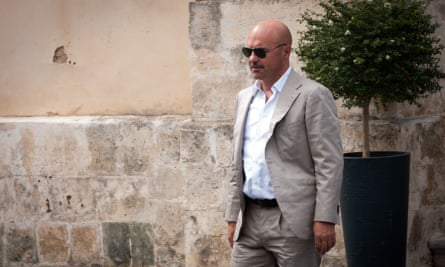 Luca Zingaretti as Salvo Montalbano in the RAI series of the books by Andrea Camilleri.