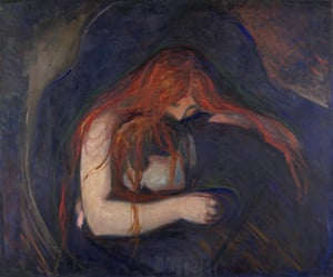 The Vampire (Love and Pain) by Munch