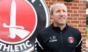 Lee Bowyer pictured at the club's training ground.