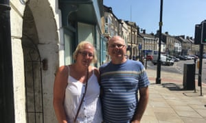 Hyleen and Stuart Wood from Durham