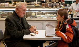 Max von Sydow and Thomas Horn in Extremely Loud & Incredibly Close, 2011