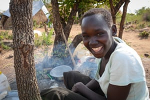 Mary Kiden, 17, from Yei in the south-west of South Sudan
