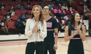 Astonishing … Monica Aldama in Cheer.