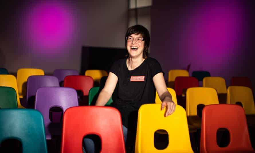 The musical's creator, Ellie Harrison