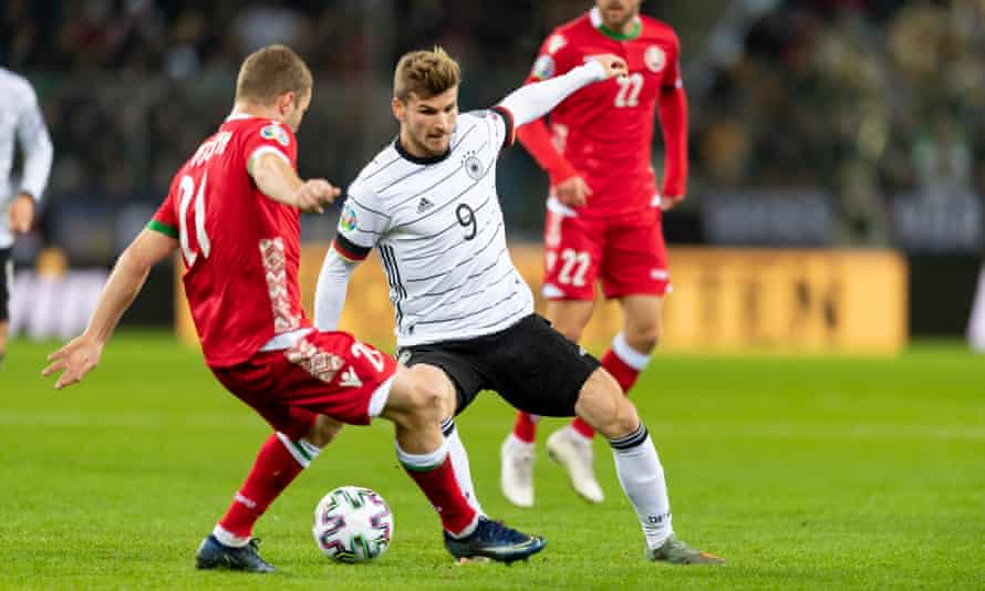 Timo Werner has 29 caps for Germany, scoring 11 goals.