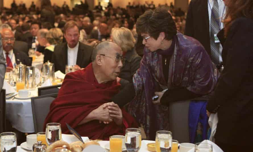 Dalai Lama at prayer breakfast