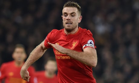 Liverpool's Jordan Henderson out of Leicester match and may miss Arsenal clash