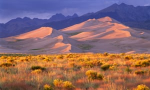 Great Sand Dunes national park and preserve, Colorado.