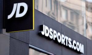 JD Sports shop sign