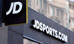 JD Sports in London.