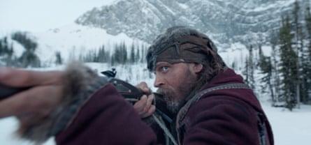 Tom Hardy inThe Revenant: not hitting the accent bullseye.