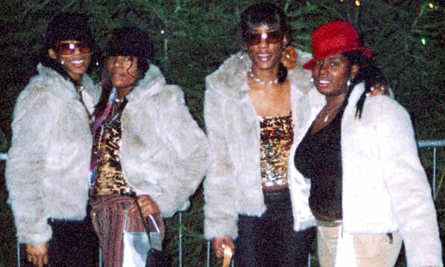 Charlene Ellis, 18, second from left, and Letisha Shakespeare, 17, right, were killed when they were caught in a shootout between rival gangs in Birmingham on New Year's Eve in 2002.