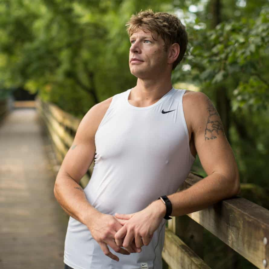 Zac has competed in two triathlons since beginning drug court