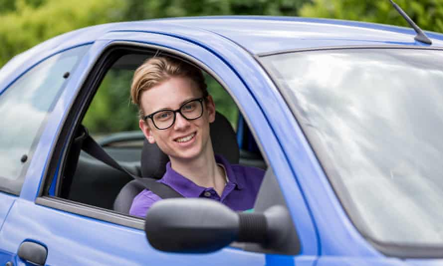 Alfie Thorn: 'In my first year I saved just under £300 through good driving, and saved £700 when I renewed again,'