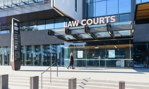 The law courts in Christchurch