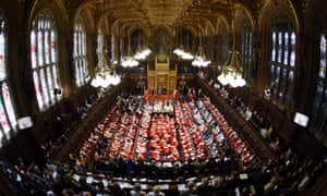 House of Lords, ermined up for state opening
