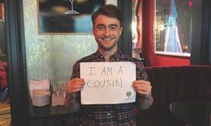 Daniel Radcliffe in AJ Jacobs' new book.