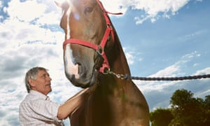 Chris Day takes a holistic approach to treating animals, including the use of homeopathy.