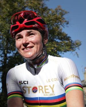 Dame Sarah Storey took the women's world title