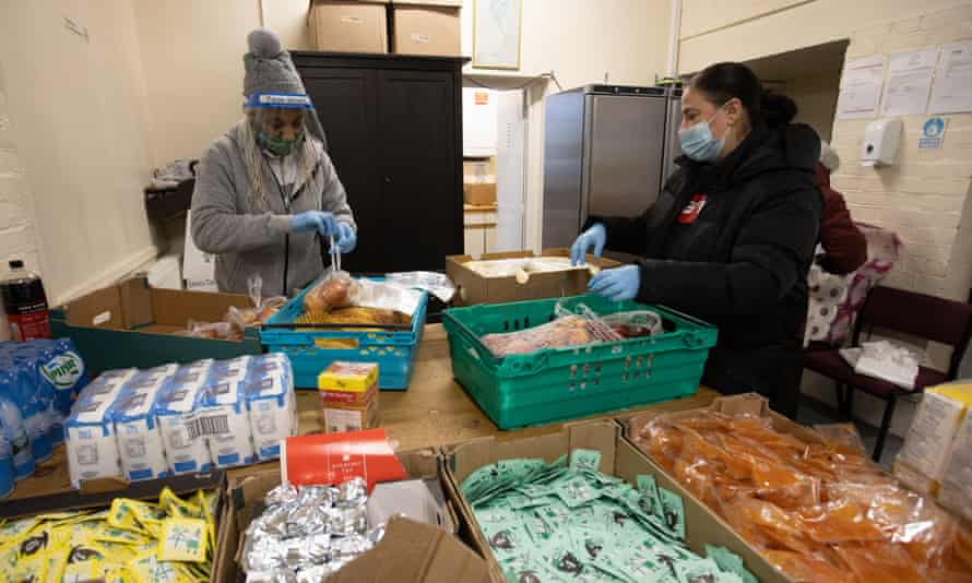Citizens Advice said the universal credit cut would drive up food bank use.