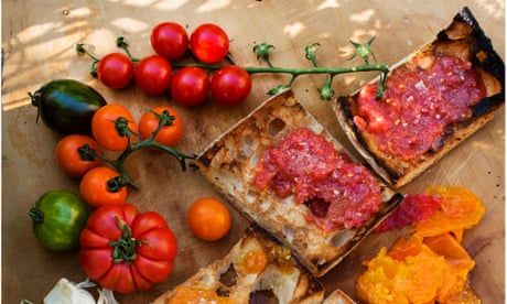 Nigel Slater's pan con tomate and focaccia recipes
