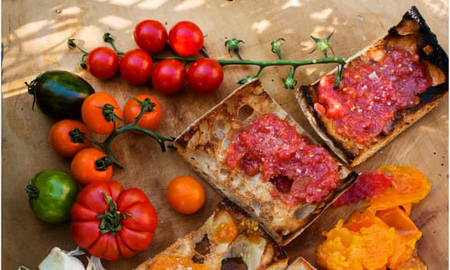 'A simple thing, perfectly executed': pan con tomate.