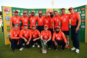 England win the series.