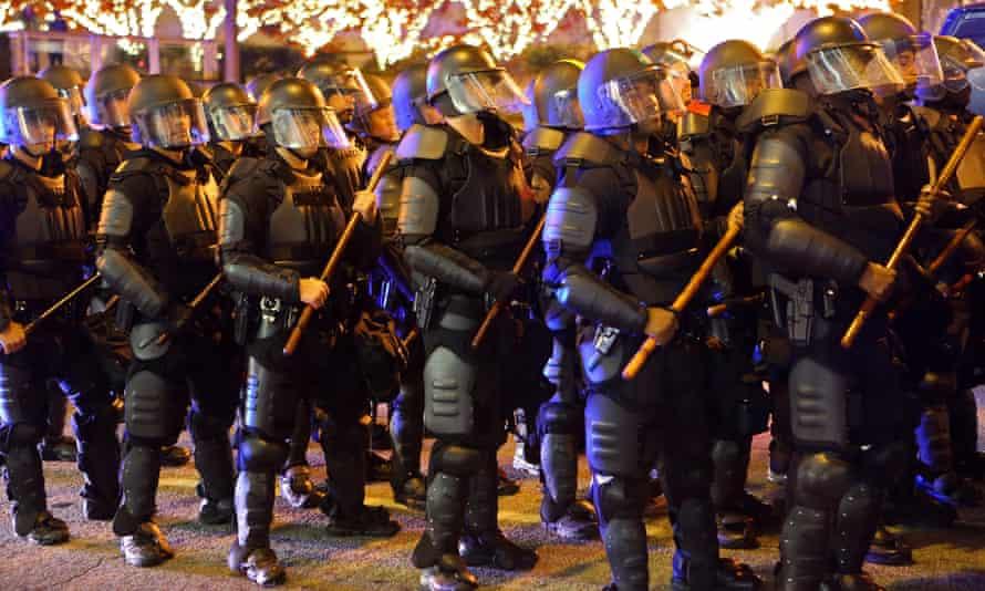 atlanta police riot gear
