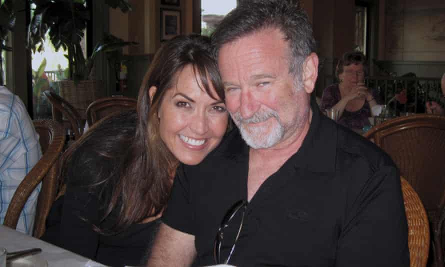 Robin Williams with his wife, Susan Schneider; this film was made at her behest.