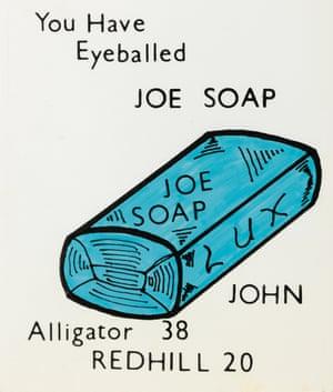 Je Soap eyeball card