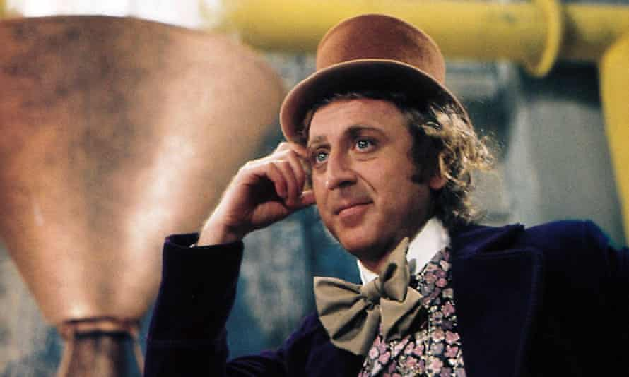 Gene Wilder in Willy Wonka and the Chocolate Factory, 1971.